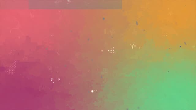 unique design pastel colors digital animation pixel noise glitch error abstract video damage - glitch technique stock videos & royalty-free footage