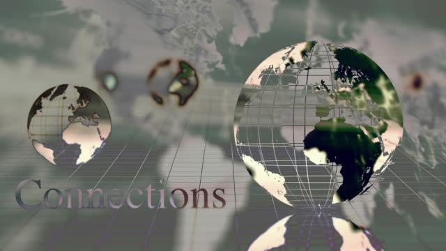 vídeos de stock, filmes e b-roll de animação de mapa mundo exclusivo - homem e máquina