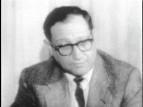unitarian minister jack mendelsohn explains why slain civil rights activist james reeb had gone to selma. - 1965 stock videos & royalty-free footage