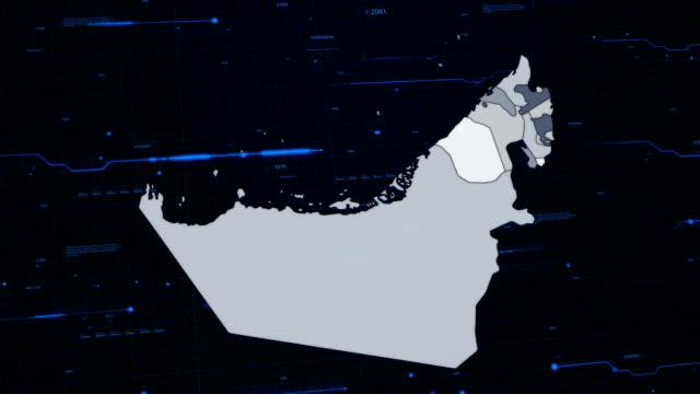 United Arab Emirates network map