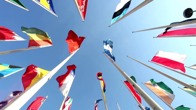 united flags - national flag stock videos & royalty-free footage