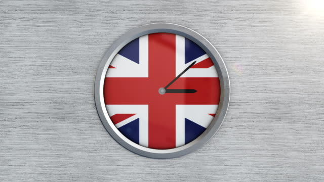 united kingdom clock time lapse - clock face stock videos & royalty-free footage