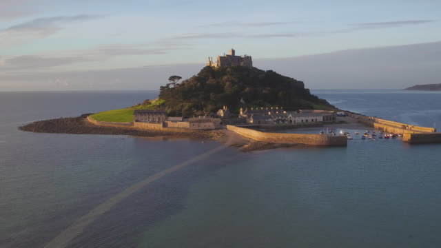 United Kingdom, England, Cornwall, Marazion, St. Michaels Mount