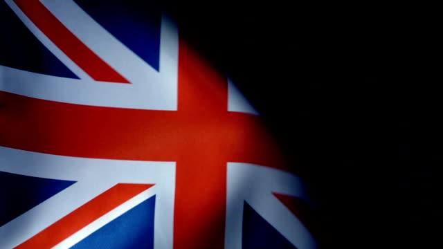 united kingdom flag flapping - union jack stock videos & royalty-free footage