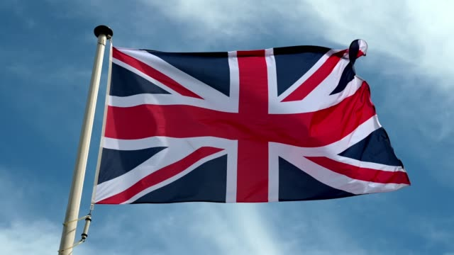 united kingdom flag - identity politics stock videos & royalty-free footage