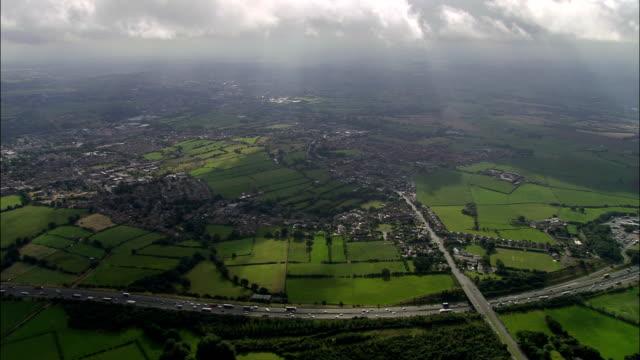 United Kingdom - M62  - aerial view