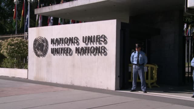 vídeos de stock, filmes e b-roll de united nations human rights council headquarters geneva switzerland united nations human rights council at un human rights council on may 04 2011 in... - united nations