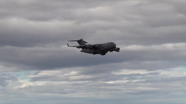 united states air force 493rd expeditionary fighter squadron arrive at keflavik air base, iceland. - us airforce stock videos & royalty-free footage