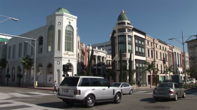 United States, California, Los AngelesRodeo Drive in Beverly Hills