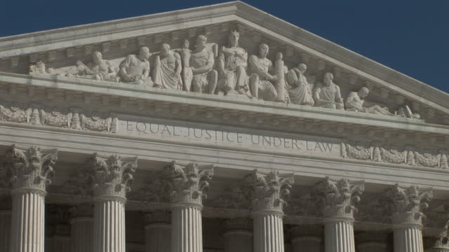 united states, california, los angelessupreme court building in washington dc - us supreme court building stock videos and b-roll footage