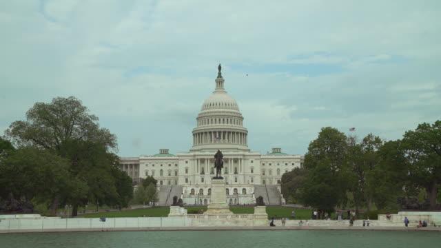 United States Capitol Building vid Union Square i Washington, DC - 4k/UHD