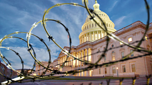 united states capitol. concept. protests. - senate stock videos & royalty-free footage
