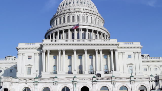 united states capitol in washington dc - washington dc stock videos & royalty-free footage