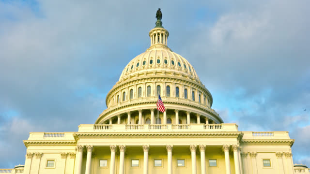 united states capitol - united states congress stock videos & royalty-free footage