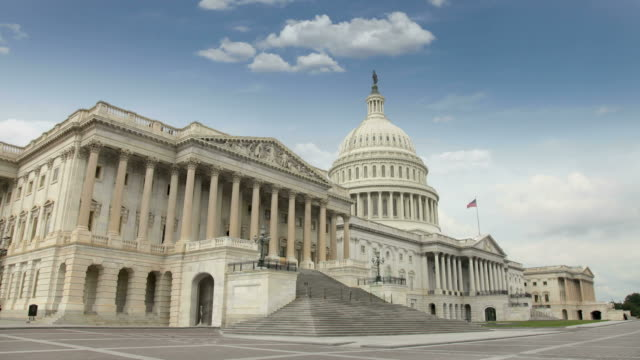 united states capitol - government building stock videos and b-roll footage