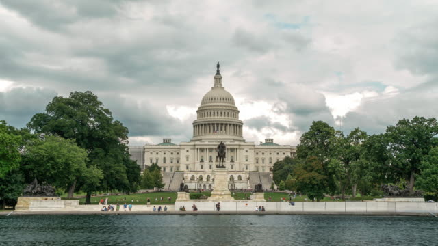 United States Capitol West in Washington, DC - 4k/UHD