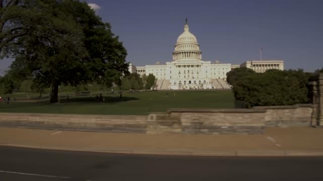 United States Capitol West Rasen vorbeifahren in Washington, DC