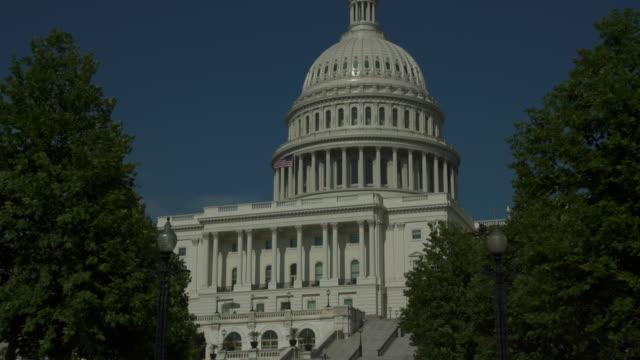 United States Capitol West Walkway in Washington, DC - 4k/UHD