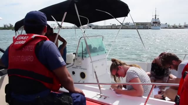 United States Coast Guard along with Partner Agencies conduct boarding operations in the Miami and Key West areas in support of Operation PAX...