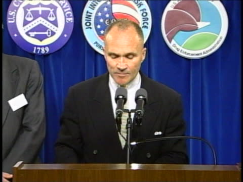 united states customs service commissioner raymond kelly says his organization has wiped out a sprawling drug organization whose tentacles reached... - tentacle stock videos & royalty-free footage