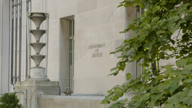 united states department of justice building - department of justice stock videos & royalty-free footage