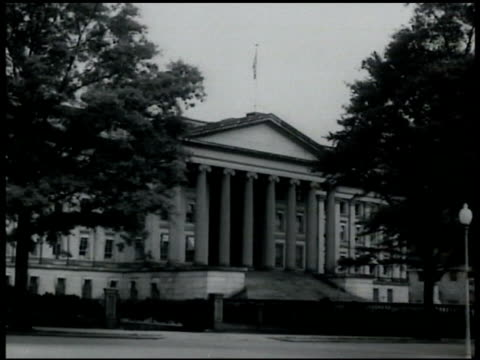united states department of treasury building - narrating stock videos & royalty-free footage