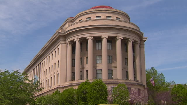 united states federal trade commission building - federal building stock videos and b-roll footage