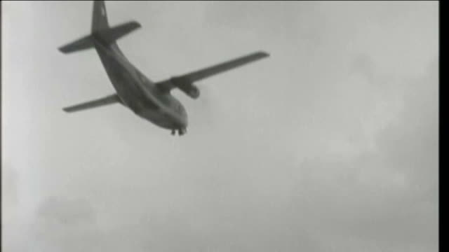 united states helps cleanup of agent orange decades after end of vietnam war x01036701 / tx c123 aircraft taking off various air to air shots showing... - vietnam stock videos & royalty-free footage