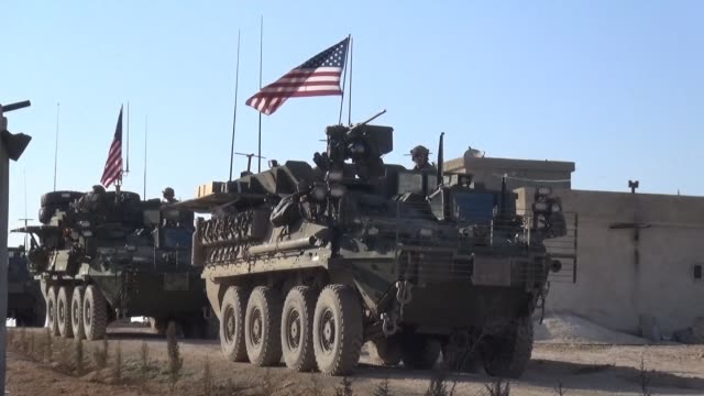 united states is to fully withdraw its troops from all of syria a us official told afp wednesday after president donald trump said the islamic state... - army stock videos & royalty-free footage