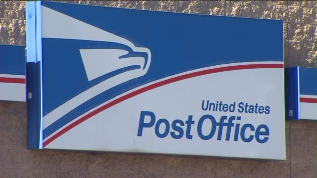 united states postal service in los angeles - postamt stock-videos und b-roll-filmmaterial
