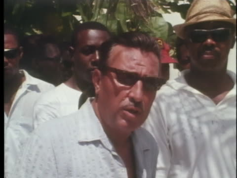 united states representative adam clayton powell jr speaks of a law in new york city which does not allow arrests on sundays - adam clayton powell jr stock videos & royalty-free footage