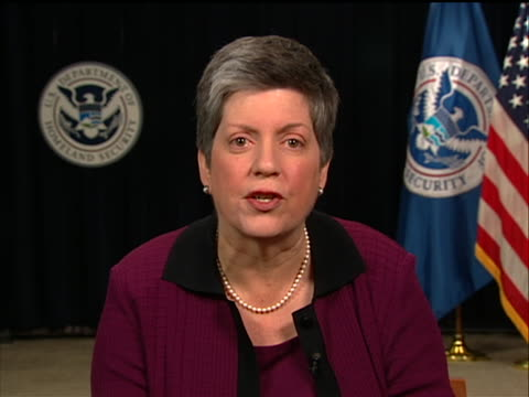 united states secretary of homeland security janet napolitano comments on the times square car bomb plot that was thwarted she states absolutely... - crime or recreational drug or prison or legal trial stock videos & royalty-free footage