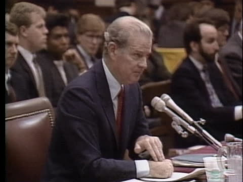 united states secretary of state james baker, iii talks about the transformation of the soviet government. - cold war stock videos & royalty-free footage