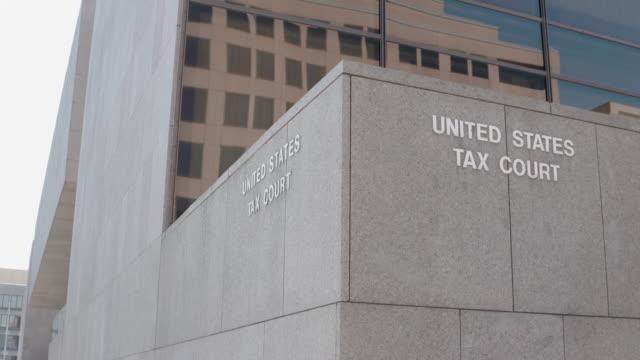 united states tax court - 税金点の映像素材/bロール