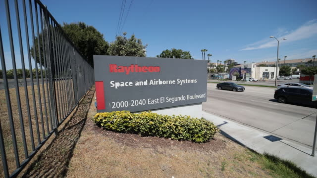 united technologies corp agreed to buy raytheon in an allstock deal forming an aerospace and defense giant with $74 billion in sales in one of the... - el segundo stock videos & royalty-free footage