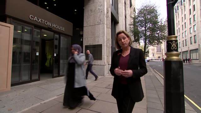 universal credit adverts banned by advertising watchdog england london department for work and pensions int jessica tye interview sot - jackie long stock videos & royalty-free footage