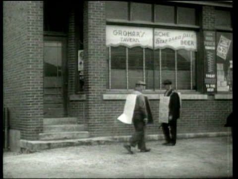 people protest when the price of beer doubles - 1937 stock videos and b-roll footage