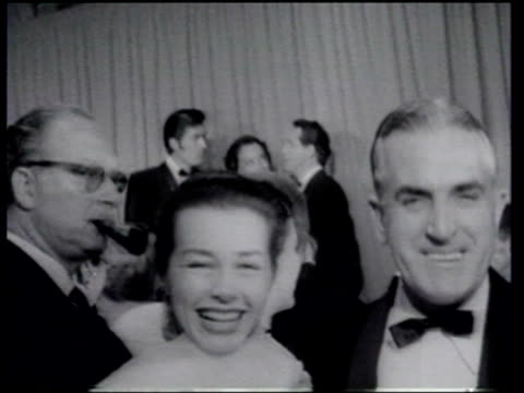 28th academy awards take place - grace kelly actress stock videos and b-roll footage