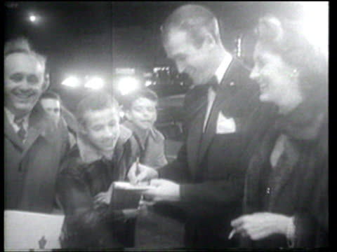actors receive their oscars at the academy awards. - humphrey bogart stock videos & royalty-free footage