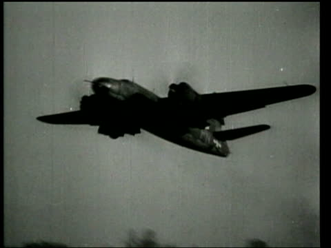 As Allied aviators bomb Axis cities trains and airfields day and night Allied fighters down Axis aircraft in dogfights