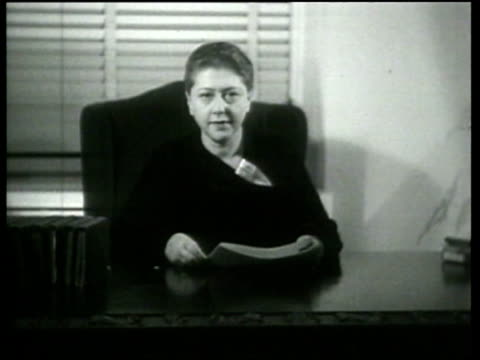 astrologist belle bart makes a prediction for the period 1936 to 1943 - 1936 stock videos and b-roll footage