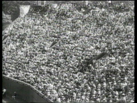 Great Britain defeats ANZAC during the 1933 US Open tennis tournament