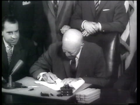 legislation is passed to make hawaii the 50th state of the united states - sam rayburn video stock e b–roll