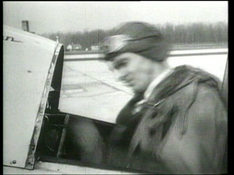 Lowell Bayles dies when his plane crashes as he attempts to set a world speed record