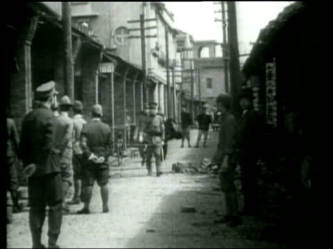madame chiang kai shek speaks to the public about chinese air raid on taiwan - taiwan stock videos & royalty-free footage