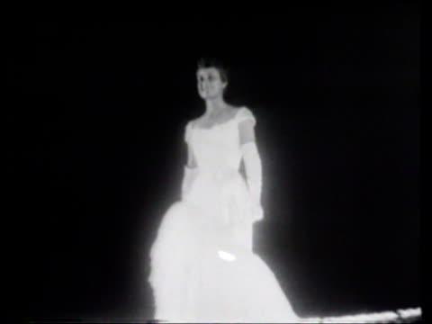 vidéos et rushes de miss america pageant - concurrent