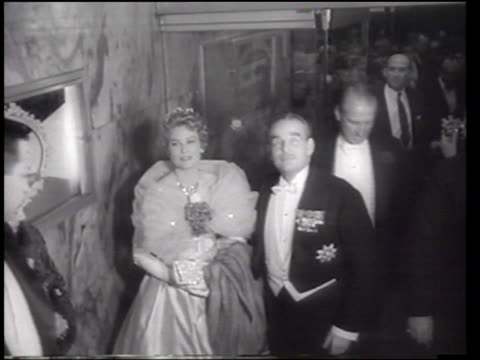 Princess Grace of Monaco attends the Imperial Ball in New York