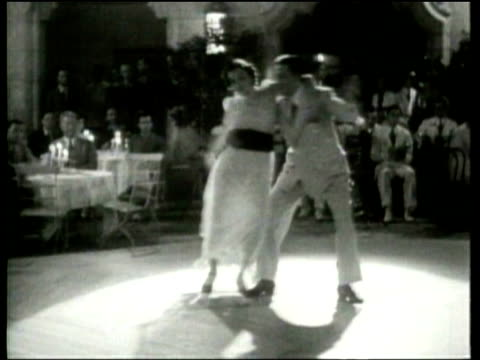 professional dancers introduce a hybrid cuban and puerto rican rumba at the miami biltmore - puerto rican ethnicity stock videos & royalty-free footage