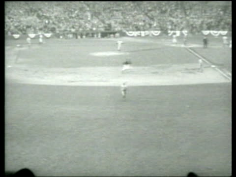 The New York Yankees defeat the Cubs during the 1938 World Series