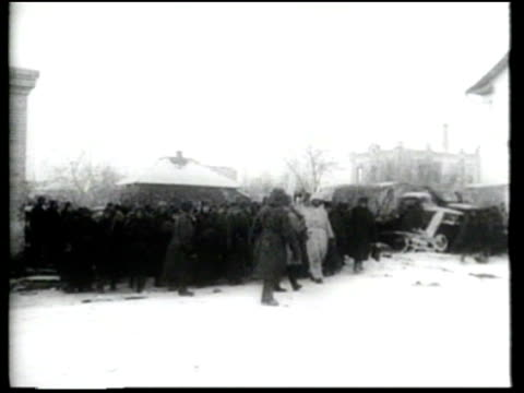 the soviet army breaks the nazi siege at stalingrad and defeats the german 6th army - volgograd stock videos & royalty-free footage